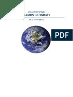 Geografi - Kamus Geografi