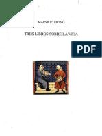 Marsilio Ficino - De Vita