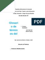 Alberto Soares (Ciencias de la Tierra) Prueba(1)