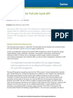 Magic Quadrant for Full API Lifecycle Management