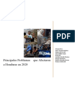 Grupo 3 - Mapa Conceptual Problemática de Honduras