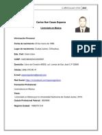 Carlos Esparza CV