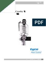 Is V3100Crosby安全阀安装维修手册