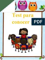 Test para conocer a nuestros alumnosOK