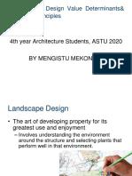 5_Landscape_Design_Value_Determinants&_Its_Design_Principles [Autosaved]