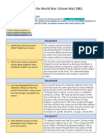 Copy of Causes of the Great War DBQ Graphic Organizer