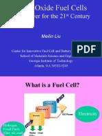 Advantages & Deep Study of SOFC