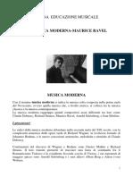 MUSICA MODERNA--RAVEL