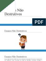 Ensaios Não Destrutivos - Visual