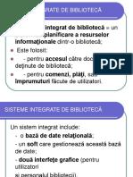 Sisteme Integrate de Bibliotecă