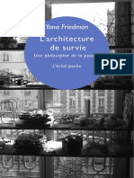 FRIEDMAN Yona - architecture-survie-