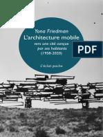 FRIEDMAN Yona - Architecture mobile