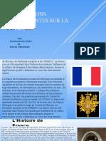 Informations interessantes sur la France