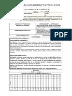 Planes Clase de Primaria Tercer Grado 3ra Unidad Didactica