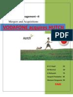 Vodafone-Hutch M & A