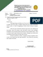Permohonan Bantuan BPBD