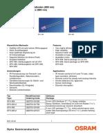Seimens IR LEDS Sfh484 5
