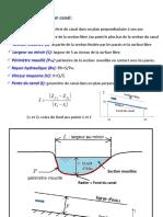 Ecoulements Surface Libre (1)