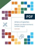 Pesquisa Artes e Esportes Relatório Final