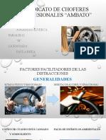 Factores Facilitadores de Las Distracciones Ppt