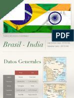 Comparación Brasil-India