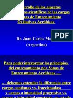 1-13 Aspectos metodológicos-científicos Zonas de Entrenamiento Aeróbicas