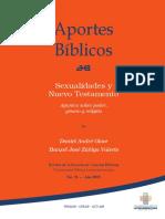 Sexualidades y Nuevo Testamento_Aportes biblicos UBL