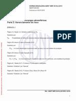 NBR 5419-2 (2015) - Proteção Contra Descargas Atmosféricas - Parte 2 (Gerenciamento de Risco) (ERRATA 1 de 02.07.2018)