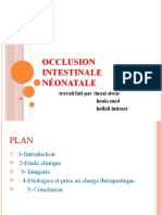 Occlusion Intstinale Neonatale Swar