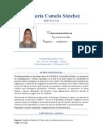 Eliana María Camelo Sanchez - CV