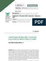 La Educación Mexicana Frente a Otros Países