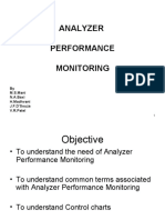 Analyser Performance Monitoring