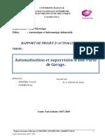 Rapport Projet d'Automatisation