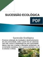 AULA DE SUCESSAO ECOLOGICA