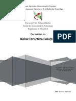 Formation Robot Polycopié