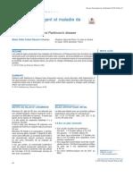 Revue Francophone d'Orthoptie Volume 12 Issue 1 2019 [Doi 10.1016_j.rfo.2019.02.012] Pataut Renard, Marie Odile -- Strabisme Divergent Et Maladie de Parkinson