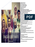 ORAÇÃO DOS 7 RAIOS