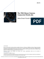 The TAG Heuer Carrera Connected Watch 9A)