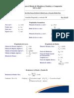 Mathcad - Diseño de Miembros a T y C-OR