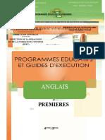 guide anglais 1è