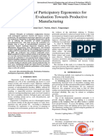 Utilization-of-participatory-ergonomics-for-workstation-evaluation-towards-productive-manufacturing2019International-Journal-of-Engineering-and-Advanced-TechnologyOpen-Access