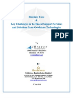 Key Challanges in Technical Support Business Case