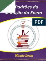 """E-book """"Os Padrões Da Redação Do Enem""""- 6ª Edição"""