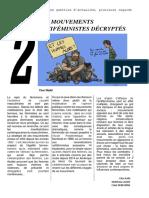 Les mouvements antiféministes décryptés