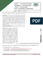 ESM BG11 D7 FF1 Unicel Multicelularidade Iara Santos
