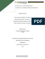 actividad 1y 2 evaluación y proyectos