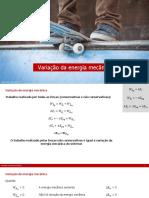 9. F10 - Variação Da Energia Mecânica