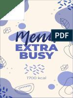 menu extra busy 1700 kcal