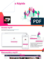 myTP App Manual