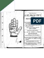 Иоганн Розенбах фон Хаген-Книга Хиромантии и Физиономии  1683(Johannes Indagine-The Book of Palmistry and Physiognomy)